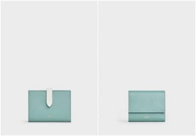 Celine熱賣8包款通通換上「湖水綠」新衣!溫柔又優雅的「綠」質感激增