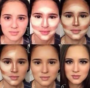 這9張化妝前後的對比圖讓人震驚!事實證明利用這些小技巧,人人都是大明星