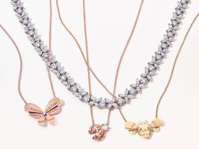 Tiffany 初心者這樣買!一萬五就能入門的超美彩色珠寶 昆蟲造型飾品
