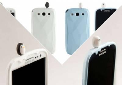 回歸自然 超可愛企鵝手機周邊for Galaxy S III