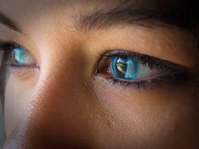 瘋狂變眼 特殊圖案變色隱形眼鏡