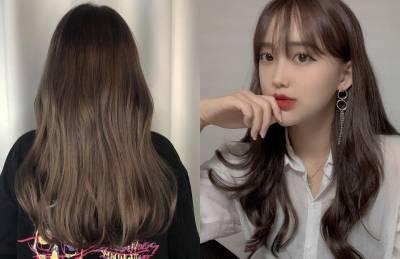 韓國大勢「柔霧髮色」範本!不用漂 超顯白的搭訕髮色,這款更是超仙的背殺髮色!