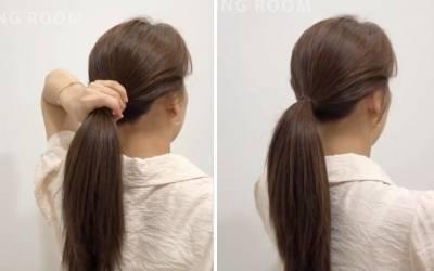 馬尾怎麼綁蓬鬆又好看?髮型師傳授不老氣「韓系馬尾綁法」,關鍵馬尾高度讓你稚嫩 不飄嬸味!