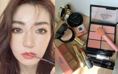 謝金燕「野生眉」示範!4個重點成為眉毛精,姐姐的化妝包首度公開