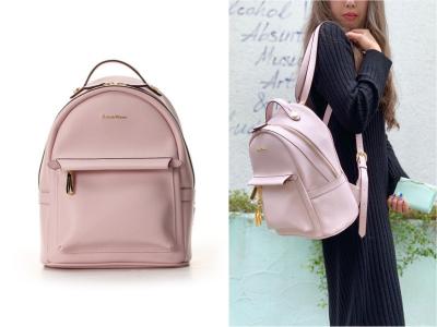 編輯精選9款粉紅色後背包推薦!出遊 約會 上班都能當個可愛的萌妹子