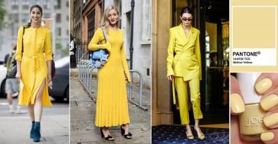 搶先穿上秀場流行色!拍照上鏡就穿「復古黃」,掌握5種搭配法,亮眼又不失優雅...