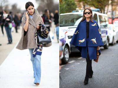 披上去華麗變身!穿膩了冬大衣,本季用長披風搭出新鮮感,5種穿搭法,小隻女向她看齊...
