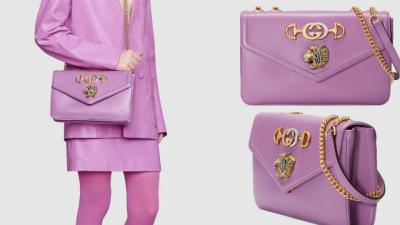 2020春夏最夢幻「馬卡龍紫」,CHANEL DIOR GUCCI馬卡龍紫經典包款,顯白又百搭!