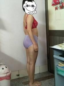 【產後塑身衣】第一次穿上維娜斯塑身衣,忍不住站在鏡前好好欣賞自己的身材曲線~