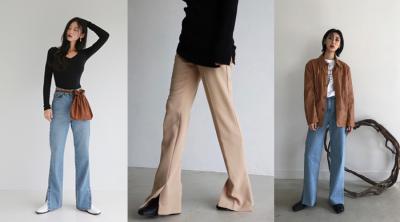 學韓妞怎麼穿出逆天長腿!掌握這5種穿褲技巧,顯瘦 拉高一次到位