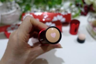 NEW COLOUR花蜜心肌美顏棒,化妝一瓶搞定,30秒完妝神器,球蘭花蜜 粉色愛心多效合一一支搞定,一瓶搞定底妝的智孝粉條