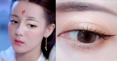 《枕上書》迪麗熱巴「微醺眼妝」教學!3步眼睛放大兩倍 不腫泡,眼神魅惑又溫柔~