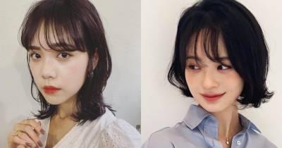 金所炫中短髮超仙!這5款韓國正夯「中短髮」髮型圖鑑必剪~搭配不同捲度瘦臉效果超好