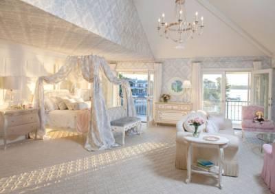 宛如置身夢境!絕美!令人嚮往的的夢幻睡簾公主床
