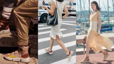 楊丞琳 Melody 楊冪都在SNS上曬這雙老爹鞋!「粉紅精品球鞋」推薦