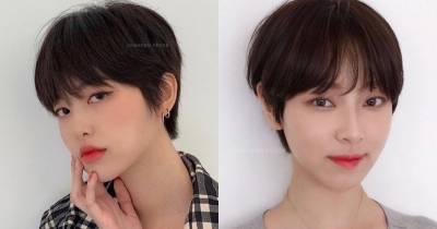 張鈞甯一次剪掉20cm長髮!精靈系短髮可甜可鹽,髮型師臉型選短髮秘訣,這款拯救肉餅臉
