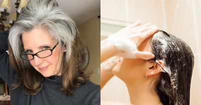 滿頭白髮背影老得像阿嬤?5款天然植萃「黑髮洗髮精」推薦,只要7天就能減齡20歲
