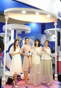 2020亞洲生技大展 名模部落客見證台鹽「綠迷雅」膠原蛋白美麗奇肌