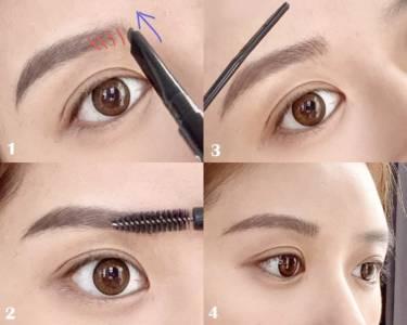這樣畫眉最好看!濃眉 眉毛稀疏人修眉 畫眉技巧全公開,新手秒學會,加碼平價眉筆推薦