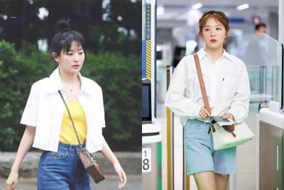 跟韓國女團Red Velvet BLACKPINK學穿搭,超S短版上衣 假小子全黑裝扮,哪個才是你的菜?