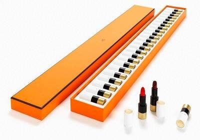 最夢幻聖誕禮盒!愛馬仕推出「24色鋼琴唇膏組」,台灣也開首間彩妝香水快閃店