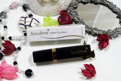 ByouBme完美唇蜜,含紅玫瑰果油及龍血精華的亮彩變色唇蜜,不擔心吃下肚的喚彩唇蜜