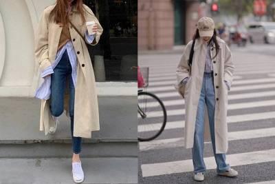 忽冷忽熱風衣拿出來凹造型~經典風衣疊穿穿搭技巧3TIPS,襯衫 高領先備好|穿搭技巧