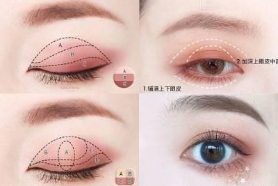 手指就能畫出完美眼妝?超簡易眼影畫法《雙色眼影》暈染不失手!|雙色眼影推薦