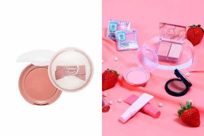 草莓季來臨!草莓甜點女孩最Sweet「草莓奶霜妝」用《開架彩妝》打造讓人融化的甜蜜妝容 彩妝推薦