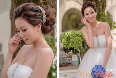 造型師崔麗-專業的新娘美麗推手|【Miss Bride 愛漂亮】