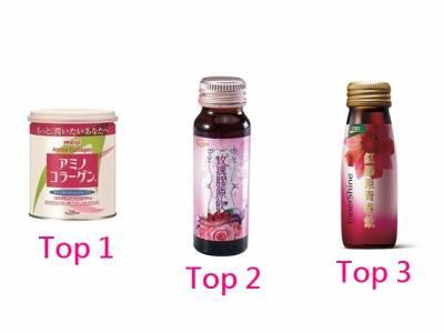 TOP6膠原美容食品
