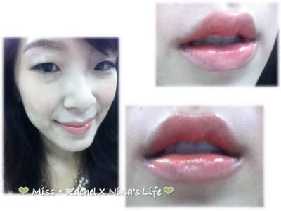 唇妝❤ 3秒完成咬唇妝~Miss Hana韓系彩妝正當到