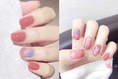 清甜女孩心機逆襲「粉嫩美甲」~春天指尖搶先換季!|美甲推薦