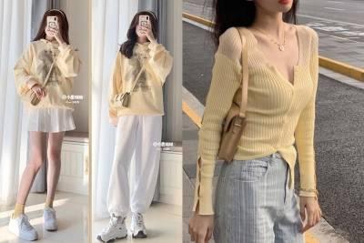 2021 Patone流行色,從春夏的《黃色系穿搭》找蹤影,少女感UP超吸睛|穿搭推薦