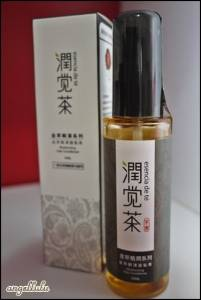 茶寶 潤覺茶 金萃瞬澤護髮素esencia de té,不含矽靈只有滿滿的精華油~