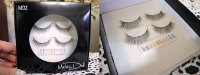 【彩妝】米蕾朵MelanDoll玩色彩睫~可自己任意搭配的彩睫 文末贈獎