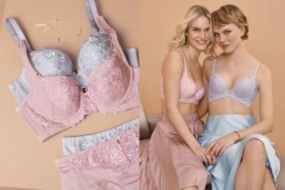 少女心爆棚!夢幻粉嫩色內衣新品推薦,舒適無鋼圈內衣 深V法式薄紗,展現自信內在美