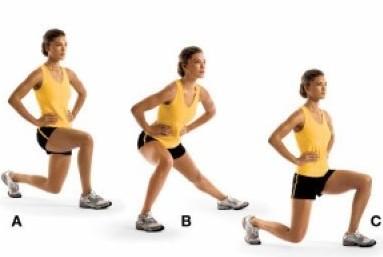 專傢八步運動打造翹臀與美腿