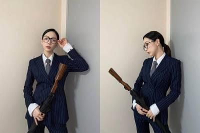 太妍還原金牌特務100 !穿西裝比男的還帥,帥到連女生都愛上!|名人焦點