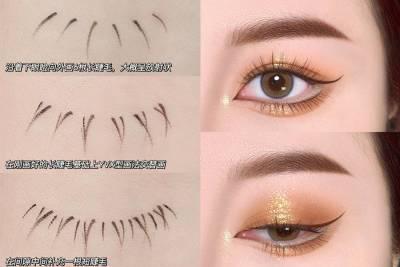 「下睫毛」無中生有靠一支眼線液!2:1比例真假下睫毛最自然 眼妝教學