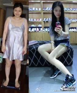 傳奇!3個月狂減37kg 胖妞變女神!(圖)
