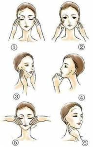 簡單六步驟,按摩消浮腫跟腫眼泡說拜拜