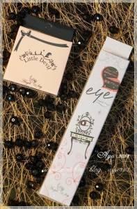 【彩妝】Angel Key小惡魔-暢行無阻眼線液筆 不流痕跡遮瑕餅 就是要完美亮眼妆