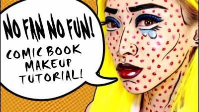 [仿妝]美式漫畫風 Comic Book Makeup