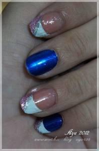 【美甲】Elizavecca 韓式光療彩繪素材 進口金屬指甲貼
