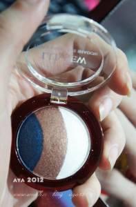 Luview路薇兒的新一代陶瓷美肌煥臉光采BB霜+雙重赤陶土烘培魔幻眩彩三色眼影