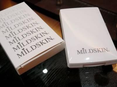 用指溫加持出好自然的妝感~MILDSKIN粉凝霜