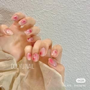 2021光療趨勢推薦「腮紅美甲」!5款超顯白造型,玫瑰粉 法式蜜桃....韓妞最愛是這款