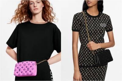 LV台灣線上購物獨賣「迷你枕頭包」 !!3種背法肩帶還能當項鍊,Coussin未上架楊丞琳與Kiwi已搶揹