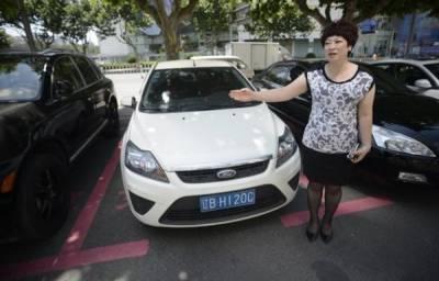 「尊重還是不尊重? 」商場開闢女士專用停車位!